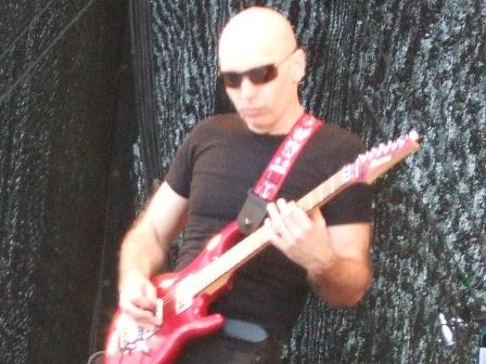 Joe Satriani in Sweden