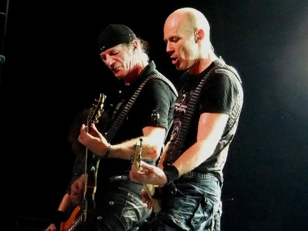 Accept guitar players - Herman Frank and Wolf Hoffmann