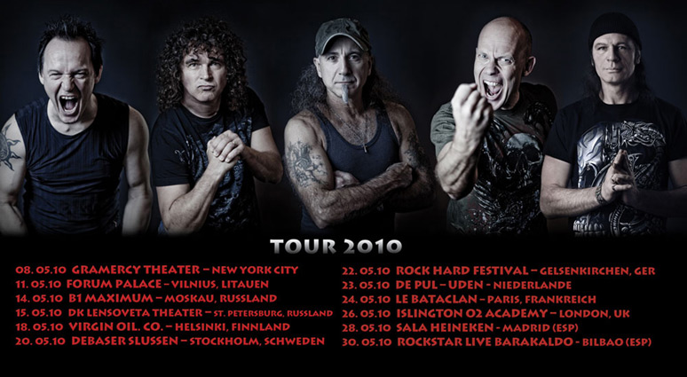 Accept live at Paris Expo