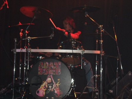 Drummer Fucker live in Prague with Adam Bomb