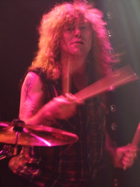 Steven Adler live in Paris
