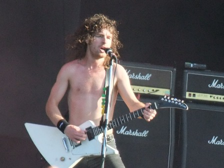 Tony Portarofrom Airbourne in Wacken