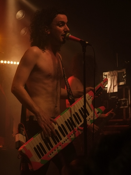 Christopher Bowes from Alestorm