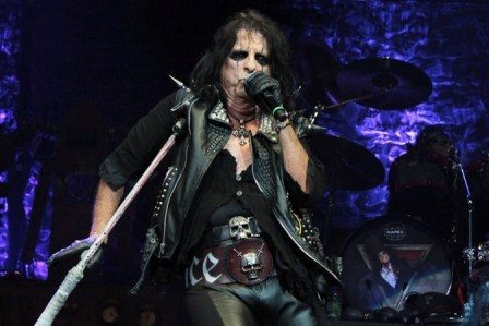 Chris Broderick with Alice Cooper