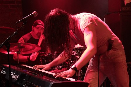 Andrew W.K. and his piano