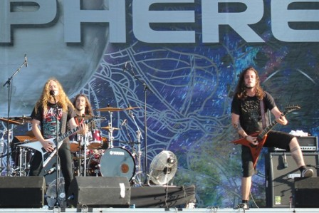 Pontus and Fredrik - Angelus Apatrida live at Sonisphere Festival in ggetafe, Madrid, Spain