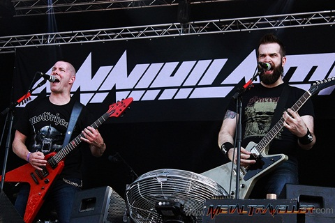 Jeff Waters and Dave Padden live at Hellfest