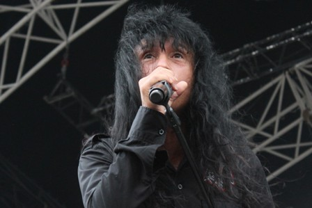 Joey Belladonna from Anthrax live in Amneville