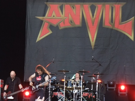 Anvil live at Hellfest in Clisson