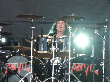 "Robb ""Geza"" Reiner - Anvil live at Hellfest in Clisson"