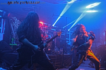 Arkona concert in Colombia