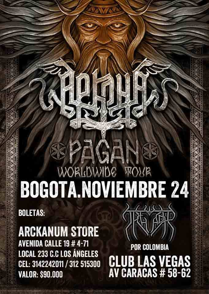Poster for Arkona in Colombia
