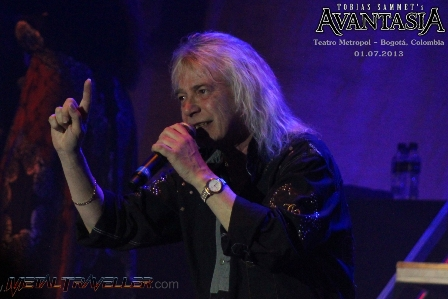 Bob Catley from Magnum live with Avantasia