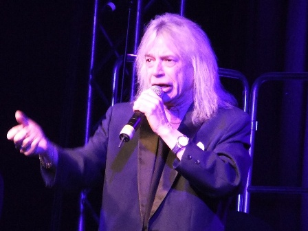 Bob Catley from Magnum - Avantasia live in Kaufbeuren Germany