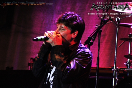 Eric Martin from Mr. Big with Avantasia