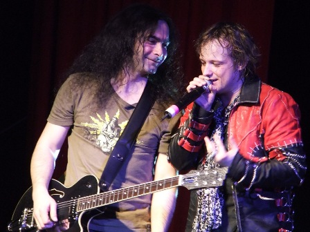 Sascha Paeth from Heaven's Gate and Tobias Sammet from Edguy with Avantasia live in Kaufbeuren
