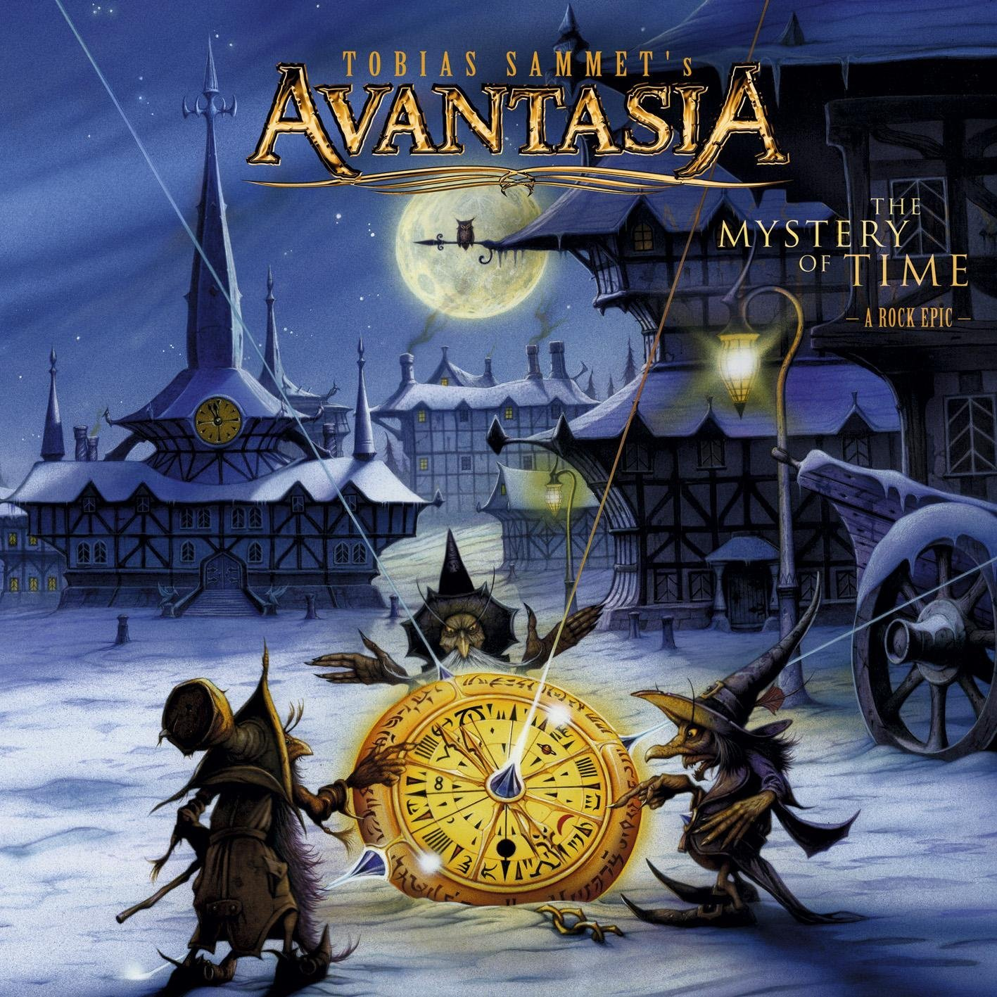 Avantasia The Mystery Of Time album cover