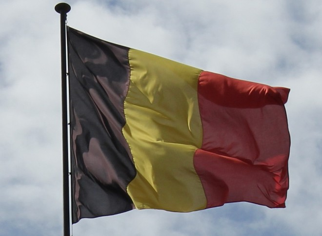 The Flag of Belgium
