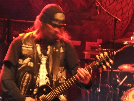 Nick Catanese with Black Label Society on stage
