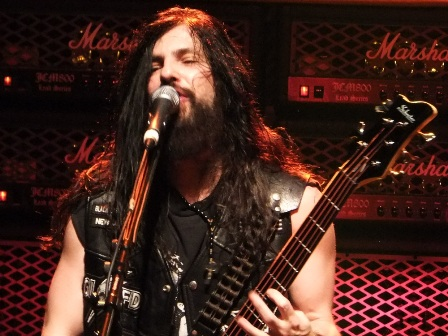 "John ""JD"" DeServio on bass with Black Label Society live in Paris"