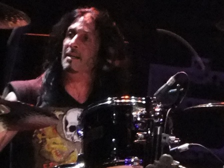 Johnny Kelly on drums with Black Label Society live in Paris