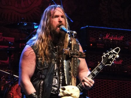 Zakk Wylde with Black Label Society