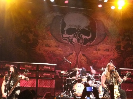 Black Label Society on stage