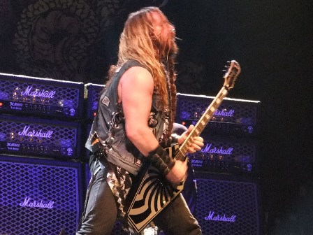 Zakk Wylde - Black Label Society live in Paris France