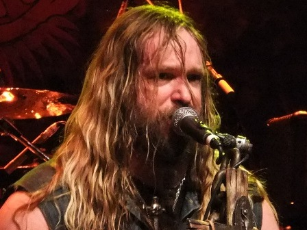 Zakk Wylde singing - Black Label Society live in Paris