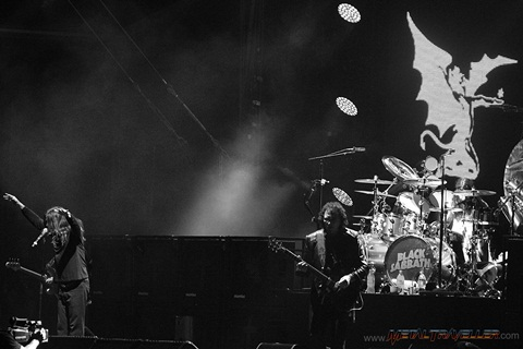 Black Sabbath in France, live in Clisson