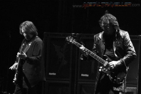 Geezer Butler and Tony Iommi - Black Sabbath live in Clisson
