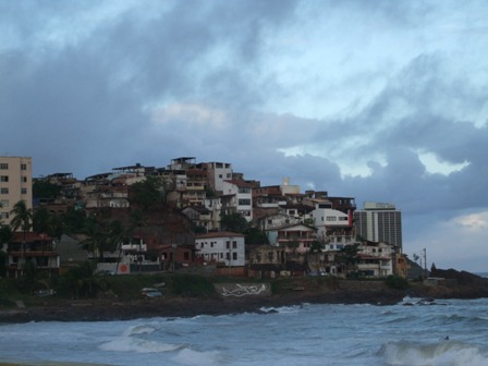 Houses by the sea, Salvador, Brazil