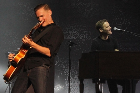 Bryan Adams and Gary Breit live