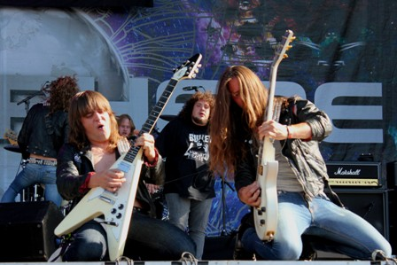 Bullet at the Sonisphere Festival in Madrid