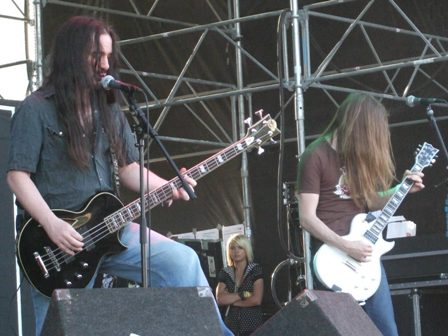 Carcass live at Sweden Rock Festival, Sweden, June 2008