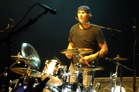 Chad Smith with Chickenfoot in Paris