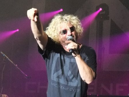 Sammy Hagar with Chickenfoot in Paris