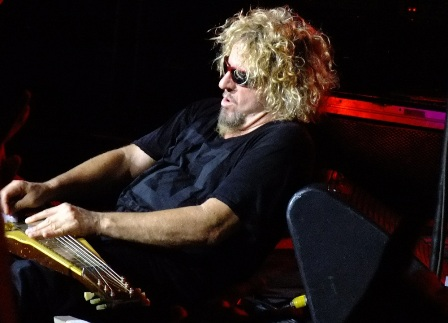 Sammy Hagar playing Bad Motor Scooter