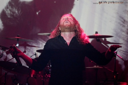 Dark Tranquillity playing with his Mikael_Stanne_ozzy_bar