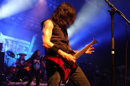 Rob Cavestany live at the Alcatraz Metal Festival with Death Angel