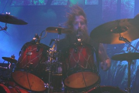 Will Carroll on drums live with Death Angel