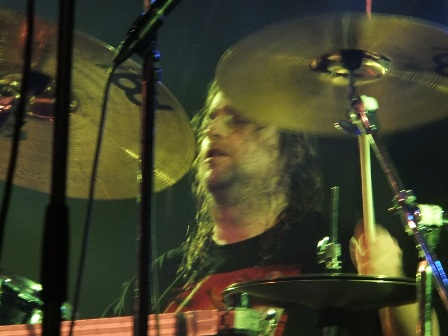 Will Carrolle from Death Angel on drums at the Thrashfest live in Paris
