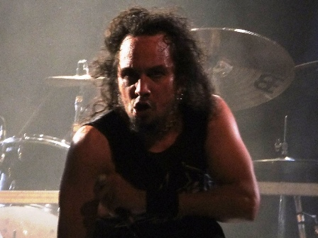 Mark Osegueda with Death Angel live in Paris