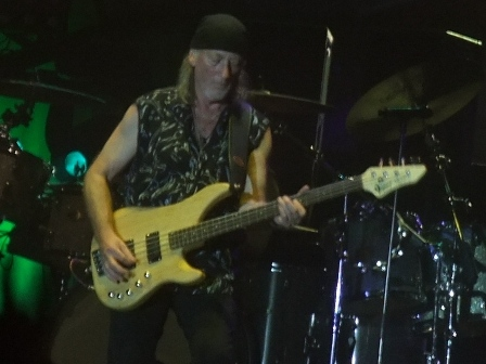 Roger Glover in concert in Paris