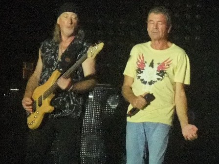 Roger Glover and Ian Gillan - Deep Purple live in Paris