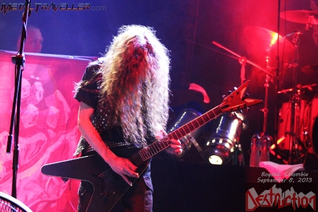 Mike from Destruction live in Colombia