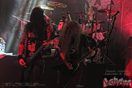 Thrashers Attack Festival - Destruction in Bogotá Colombia