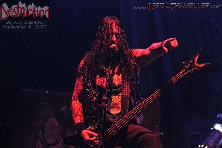 Schmier - Destruction in concert in Colombia