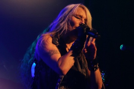 Doro Pesch live at l'Alhambra in Paris