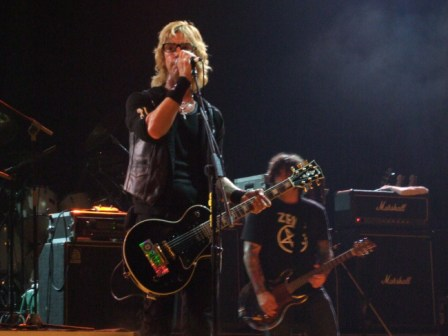 Duff McKagan's Loaded live in Milan Rock Of Ages Festival